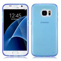 Insten Blue TPU Rubber Candy Skin Case Cover For Samsung Galaxy S7