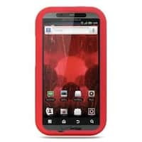 Insten Soft Silicone Skin Rubber Case Cover For Motorola Droid Bionic XT875 Targa