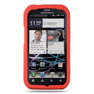 Insten TPU Rubber Candy Skin Case Cover For Motorola Photon 4G MB855