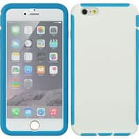 Insten TPU Rubber Candy Skin Case Cover with Screen Protector For Apple iPhone 6 Plus/ 6s Plus