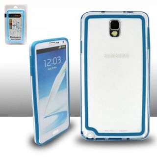 Insten Clear TPU Rubber Candy Skin Bumper Frame For Samsung Galaxy Note 3
