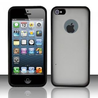 Insten TPU Rubber Candy Skin Glossy Case Cover For Apple iPhone 5/ 5S/ SE