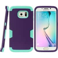 Insten Hard Snap-on Dual Layer Hybrid Case Cover For Samsung Galaxy S6 Edge