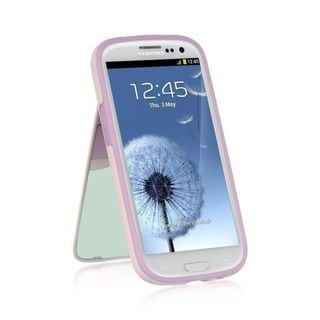 Insten TPU Rubber Candy Skin Case Cover with Stand For Samsung Galaxy S3 GT-i9300