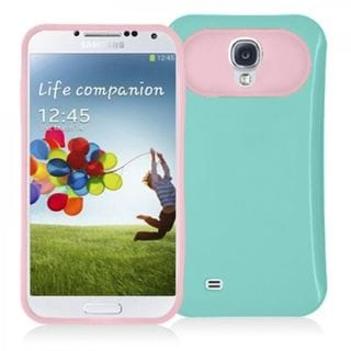 Insten TPU Rubber Candy Skin Silicone Case Cover with Card Slot For Samsung Galaxy S4 GT-i9500