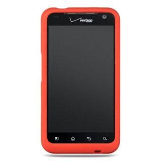 Insten Silicone Skin Gel Rubber Case Cover For LG Esteem MS910/ Revolution VS910