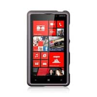 Insten Hard Snap-on Rubberized Matte Case Cover For Nokia Lumia 820