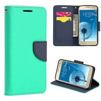 Insten Leather Case Cover Lanyard with Stand/ Wallet Flap Pouch For Samsung Galaxy J2(2015)