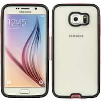Insten Clear Hard Snap-on Dual Layer Hybrid Case Cover For Samsung Galaxy S6 SM-G920