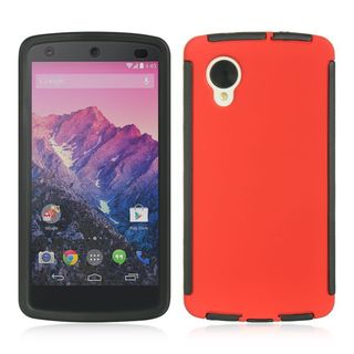 Insten Hard Snap-on Case Cover with Screen Protector For LG Google Nexus 5 D820