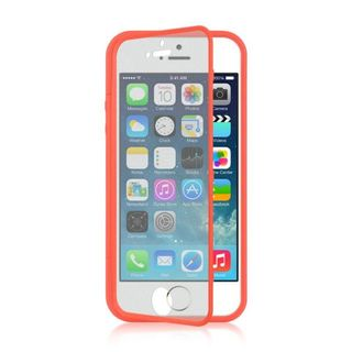 Insten TPU Rubber Candy Skin Case Cover with Screen Protector For Apple iPhone 5/ 5S