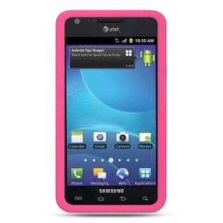Insten TPU Rubber Candy Skin Case Cover For Samsung Galaxy S2 Attain I777 ATT