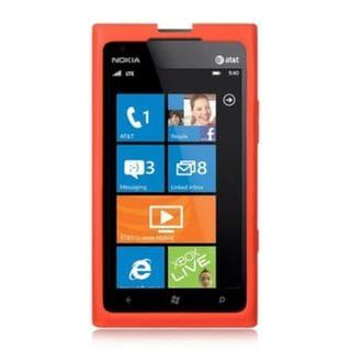 Insten Hard Snap-on Rubberized Matte Case Cover For Nokia Lumia 900