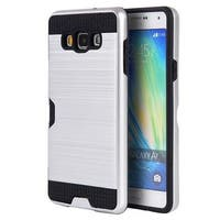 Insten Hard Snap-on Dual Layer Hybrid Case Cover with Card Slot For Samsung Galaxy A7