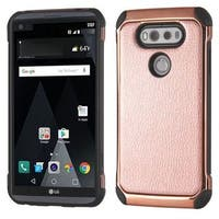 Insten Leather TPU Dual Layer Hybrid Case Cover For LG V20