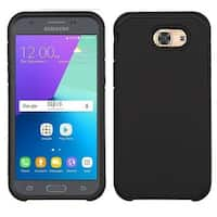 Insten Hard PC/ Silicone Dual Layer Hybrid Rubberized Matte Case Cover For Samsung Galaxy J3 (2017)