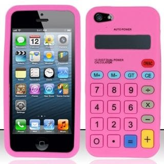 Insten 3D Soft Silicone Skin Rubber Case Cover For Apple iPhone 5/ 5S/ SE