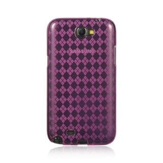 Insten TPU Rubber Candy Skin Case Cover For Samsung Galaxy Note II