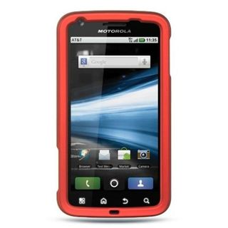 Insten Hard Snap-on Rubberized Matte Case Cover For Motorola Atrix 4G MB860