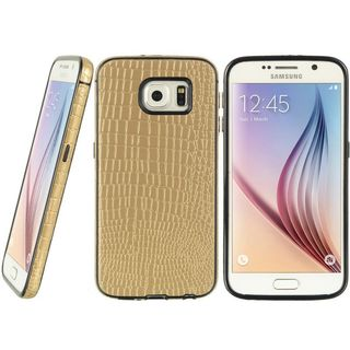 Insten Leather Crocodile Skin Case Cover For Samsung Galaxy S6 SM-G920