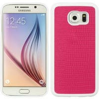 Insten TPU Rubber Candy Skin Crocodile Case Cover For Samsung Galaxy S6 SM-G920