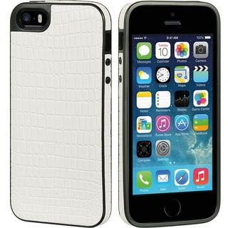 Insten TPU Rubber Candy Skin Crocodile Case Cover For Apple iPhone 5/ 5S