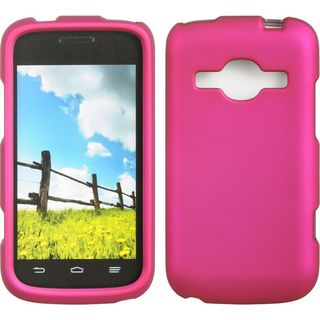 Insten Hard Snap-on Rubberized Matte Case Cover For ZTE Concord II Z730
