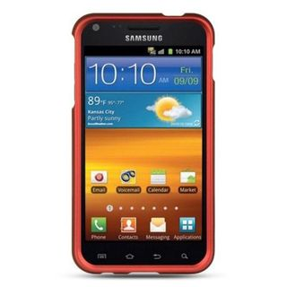 Insten Hard Snap-on Rubberized Matte Case Cover For Samsung Galaxy S2 Epic 4G Touch D710 Sprint