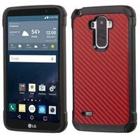 Insten Hard PC/ Silicone Dual Layer Hybrid Rubberized Matte Case Cover For LG G Stylo LS770
