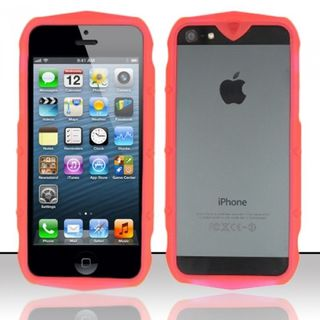 Insten TPU Rubber Candy Skin Bumper Frame For Apple iPhone 5/ 5S/ SE