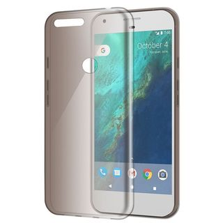 Insten Smoke TPU Rubber Candy Skin Case Cover For Google Pixel