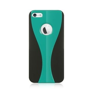Insten Blue/ Black Hard Snap-on Dual Layer Hybrid Case Cover For Apple iPhone 5/ 5S