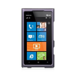 Insten Grey Hard Snap-on Rubberized Matte Case Cover For Nokia Lumia 900