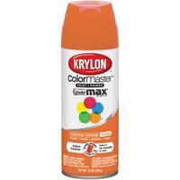 Colormaster Indoor/Outdoor Aerosol Paint 12oz-Gloss Pumpkin Orange