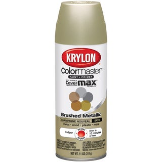 Colormaster Indoor/Outdoor Aerosol Paint 12oz-Satin Champagne Nouveau