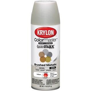 Colormaster Indoor/Outdoor Aerosol Paint 12oz-Satin Nickel