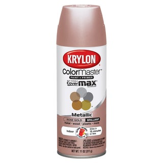 Colormaster Indoor/Outdoor Aerosol Paint 12oz-Rose Gold