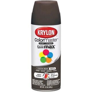 Colormaster Indoor/Outdoor Aerosol Paint 12oz-Cocoa Bean Matte