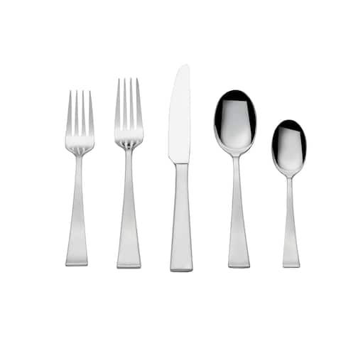 Towle Livin Stainless Steel Bree 65 Pc Flatware Set