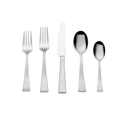 Towle Living Bree Stainless Steel 65-piece Flatware Set