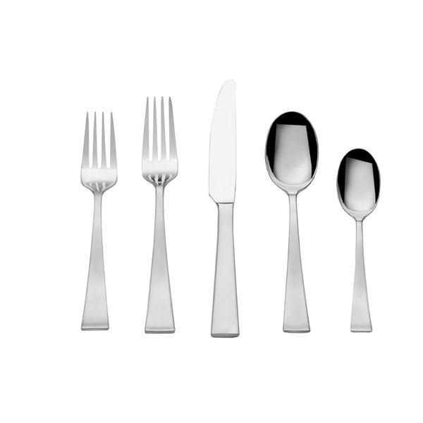 Towle Livin Stainless Steel Bree 65 Pc Flatware Set. Opens flyout.