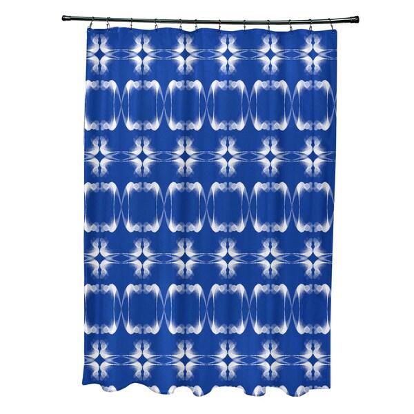71 x 74-inch, Summer Picnic, Geometric Print Shower Curtain