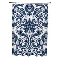 Alexys Floral Print Shower Curtain