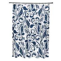 Aurora Floral Print Shower Curtain