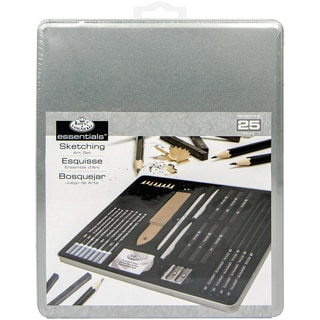 Sketching Art Set W/Tin-