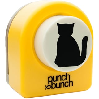 "Punch Bunch Large Punch Approx. 1.25""-Cat"