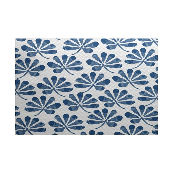 Ina Floral Print Indoor/Outdoor Rug