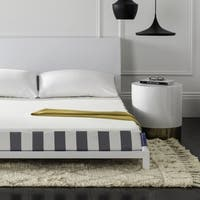 Safavieh Dream Foam Plus Soft 6-inch King-size Foam Mattress - White/Grey