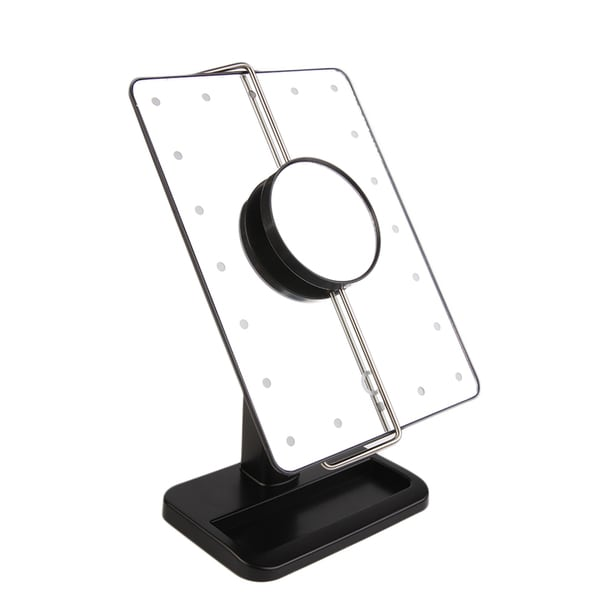 Shop 20 Led Magnifying Tabletop Mirror Free Shipping On