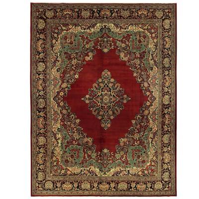 Handmade One-of-a-Kind Mahal Wool Rug (Iran) - 10'5 x 13'11
